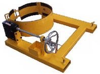 Forklift use Drum rotator