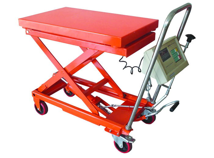 Hand Hydraulic Table Lift